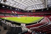 AMSTERDAM, NEDERL&Auml;NDERNA - 2017-10-09: Generell vy under tr&auml;ning inf&ouml;r FIFA 2018 World Cup Qualifier mellan Nederl&auml;nderna och Sverige p&aring; Amsterdam ArenA  den 9 oktober, 2017 i Amsterdam, Nederl&auml;nderna. <br /> Foto: Nils Petter Nilsson/Ombrello<br /> ***BETALBILD***