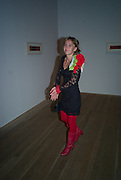 TUBA KARAER, Mark Rothko private view. Tate Modern. 24 September 2008 *** Local Caption *** -DO NOT ARCHIVE-© Copyright Photograph by Dafydd Jones. 248 Clapham Rd. London SW9 0PZ. Tel 0207 820 0771. www.dafjones.com.