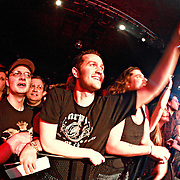 """Fans cheer as Alter Bridge performs on January 1st, 2011 in support of CD """"AB III""""  at the Showbox Market in Seattle, Washington"""