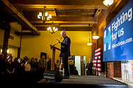 January 13, 2016, Claremont, New Hampshire, United States: President Bill Clinton campaigning for his wife, Democratic Presidential candidate Hillary Clinton at Common Man Restaurant.