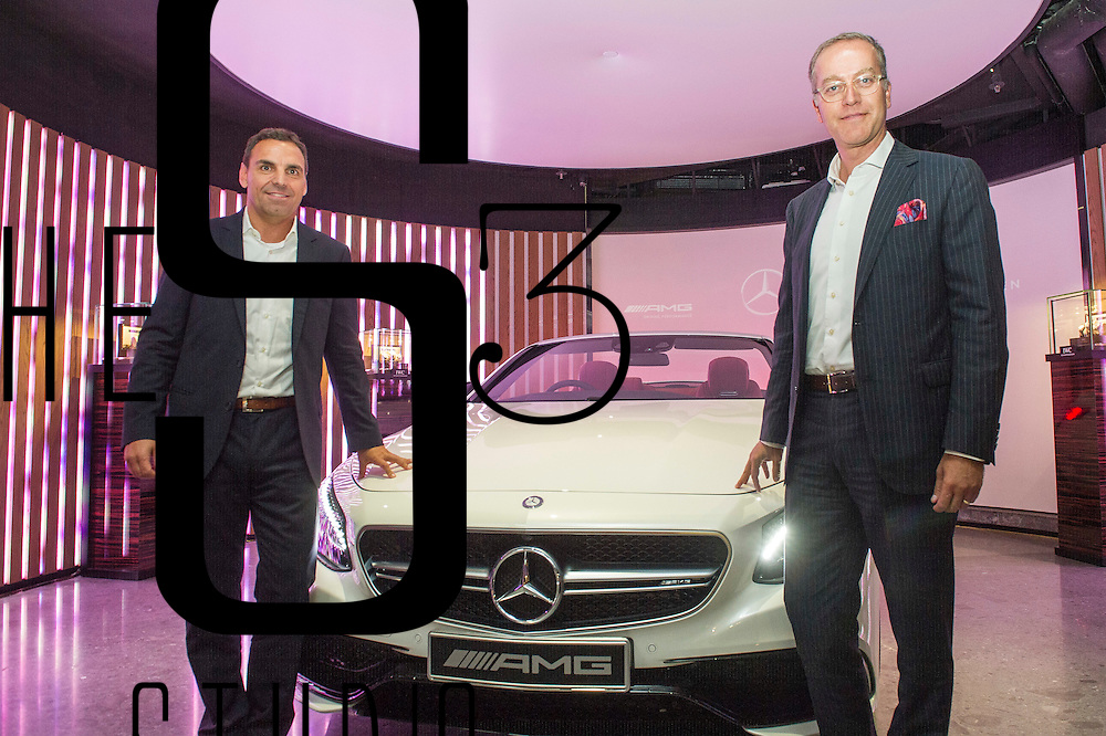IWC and Mercedes hold a joint event on 24 August 2016 in Entertainment Building, Hong Kong, China. Photo by Lucas Schifres / studioEAST