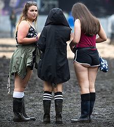 © Licensed to London News Pictures . 12/06/2016 . Manchester , UK . Revellers at the Parklife music festival at Heaton Park in Manchester . Photo credit : Joel Goodman/LNP
