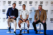Cristiano Ronaldo Opens The New Crunch Fitness Gym - Madrid 13 mar 2017