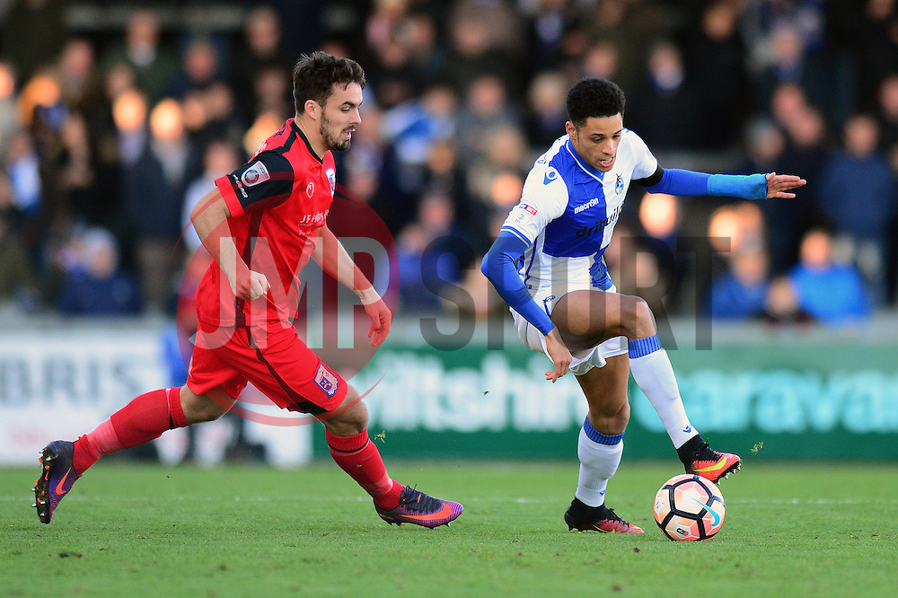 Daniel Leadbitter of Bristol Rovers - Mandatory by-line: Dougie Allward/JMP - 04/12/2016 - FOOTBALL - Memorial Stadium - Bristol, England - Bristol Rovers v Barrow - Emirates FA Cup second round