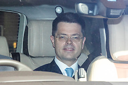 © Licensed to London News Pictures. 23/05/2019. London, UK. Secretary of State for Housing, Communities and Local Government James Brokenshire is seen leaving Parliament by car. Photo credit: Rob Pinney/LNP