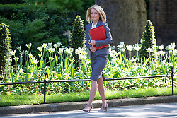 © Licensed to London News Pictures. 15/05/2018. London, UK. Secretary of State for Work and Pensions Esther McVey arrives on Downing Street for the Cabinet meeting. Photo credit: Rob Pinney/LNP