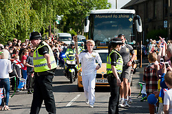 The Olympic Torch relay reaches Sheffield on day 38 coverage from the Chapeltown - Ecclesfield - Parson Cross section of the Journey.<br />