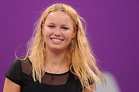 TENNIS - WTA CHAMPIONSHIPS 2010 - DOHA / QATAR - 26 TO 31/10/2010 - PHOTO : VIRGINIE BOUYER / TENNIS MAG / DPPI - CAROLINE WOZNIACKI (DEN)