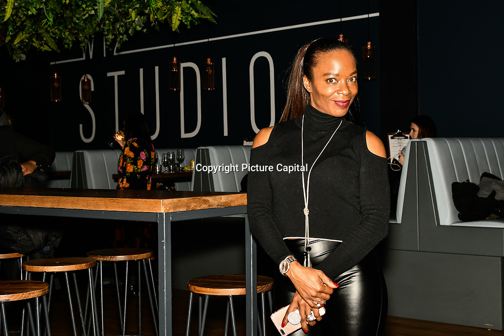 Tina T attend BBC Club at W12 Studios Lunch party on 14 March 2019, London, UK.