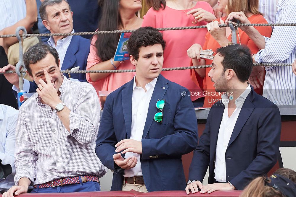 Felipe Juan Froilan Marichalar attended Beneficencia bullfight at Las Ventas Bullring on June 16, 2017 in Madrid, Spain