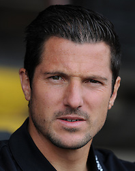 Bournemouth's Yann Kermorgant- Photo mandatory by-line: Harry Trump/JMP - Mobile: 07966 386802 - 18/07/15 - SPORT - FOOTBALL - Pre Season Fixture - Exeter City v Bournemouth - St James Park, Exeter, England.