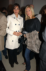 Left to right, model INES SASTRE and PRINCESS MARIE CHANTAL OF GREECE at a party to celebrate the launch of India Hick's 'Island Living' range of frangrance and beauty products in association with Crabtree & Evelyn held at The Hempel, Craven Hill Gardens, London on 22nd November 2006.<br />