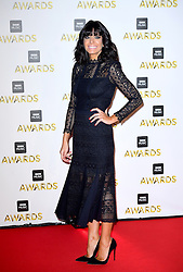 Claudia Winkleman attending the BBC Music Awards at the Royal Victoria Dock, London.