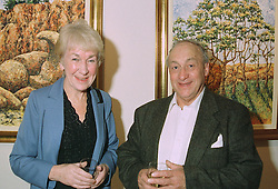 MR & MRS KEN JONES he is the actor, at an exhibition in London on 3rd September 1997.MAY 17