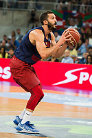 FC Barcelona Lassa player Pau Ribas during the final of Supercopa of Liga Endesa Madrid. September 24, Spain. 2016. (ALTERPHOTOS/BorjaB.Hojas)