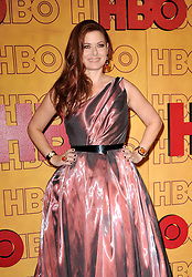 Debra Messing at the 2017 HBO's Post Emmy Awards Reception held at the Pacific Design Center in West Hollywood, USA on September 17, 2017.