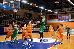 Jordan Morgan of KK Petrol Olimpija Ljubljana during basketball match between KK Helios Suns and KK Petrol Olimpija in Playoffs of Liga Nova KBM 2017/18, on March 26, 2018 in Hala Kominalnega Centra, Domzale, Slovenia. Photo by Urban Urbanc / Sportida