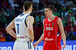 Bogdan Bogdanovic of Serbia during the Final basketball match between National Teams  Slovenia and Serbia at Day 18 of the FIBA EuroBasket 2017 at Sinan Erdem Dome in Istanbul, Turkey on September 17, 2017. Photo by Vid Ponikvar / Sportida