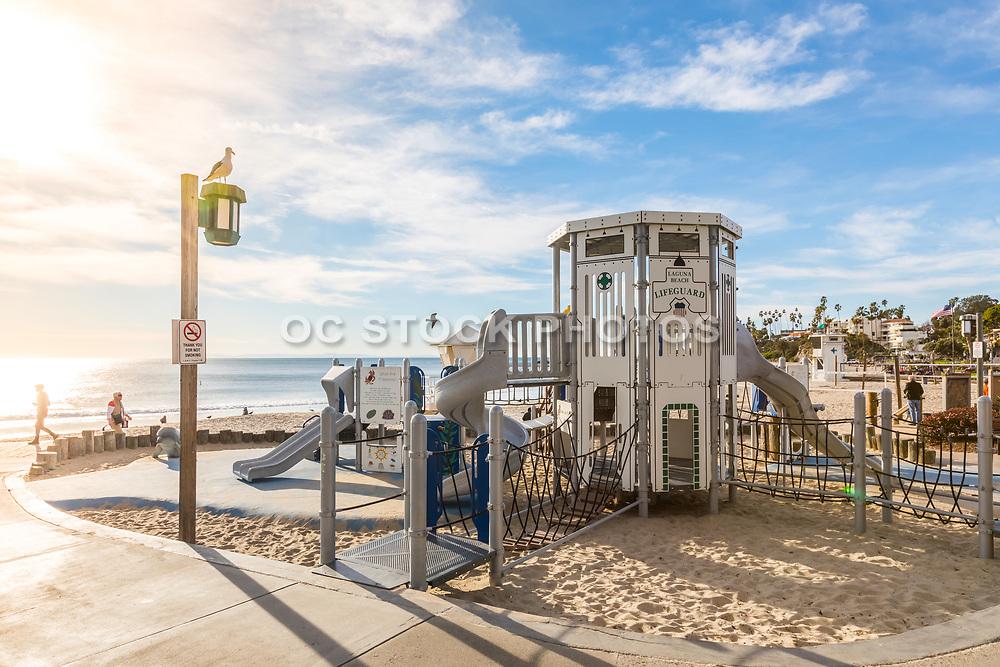 Main Beach Playground Laguna Beach California