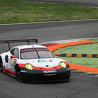 #91, Porsche Motorsport, Porsche 911 RSR (2017), driven by Richard Lietz, Frederic Makowiecki, FIA WEC 2017 Prologue, Autodromo Nazionale Monza, 02/04/2017,