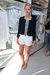 MISS LAURA BUTCHER at the opening of the new Melissa Odabash store in Walton Street, London SW3 on 7th July 2011.