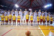 Bassano del Grappa,04 giugno 2008<br /> Basket, nazionale maschile<br /> Italia - Repubblica Ceca<br /> Nella foto: team italia<br /> Foto Ciamillo