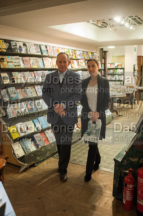 SIMON JENKINS; HANNAH KAYE , William Fitzgerald, Book launch ,  'How to read a Latin poem - if you can't read Latin yet' published by OUP.- Daunts bookshop Marylebone, London 21 February 2013.