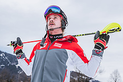 03.01.2020, Hochstein, Lienz, AUT, OeSV, Training Slalom, im Bild Manuel Feller (AUT) // Manuel Feller of Austria during a Slalom training session in preparation for the upcoming FIS Alpine Skiing World Cup Zagreb at the Hochstein in Lienz, Austria on 2020/01/03. EXPA Pictures © 2019, PhotoCredit: EXPA/ Johann Groder