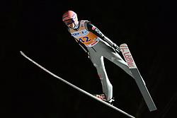 21.11.2014, Vogtland Arena, Klingenthal, GER, FIS Weltcup Ski Sprung, Klingenthal, Herren, HS 140, Qualifikation, im Bild Michael Neumayer (GER) // during the mens HS 140 qualification of FIS Ski jumping World Cup at the Vogtland Arena in Klingenthal, Germany on 2014/11/21. EXPA Pictures © 2014, PhotoCredit: EXPA/ Eibner-Pressefoto/ Harzer<br /> <br /> *****ATTENTION - OUT of GER*****