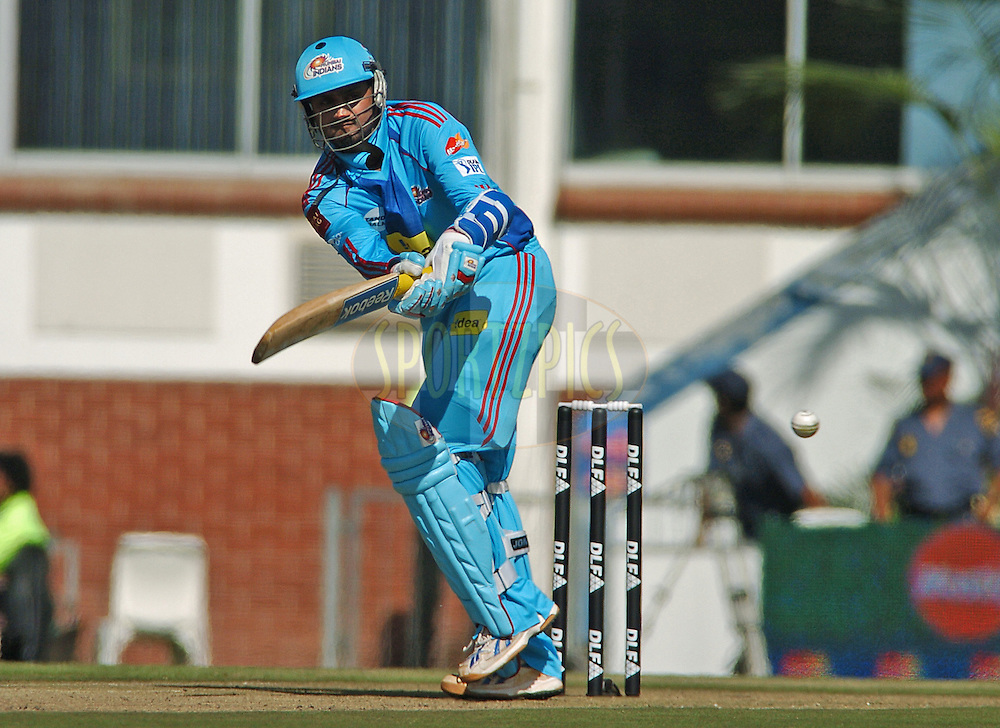 EAST LONDON, SOUTH AFRICA - 1 May 2009.  Rahane during the  IPL Season 2 match between the Mumbai Indians and the Kolkata Knight Riders held at Buffalo Park in East London. South Africa...
