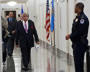 Nov 15, 2010 - Washington, District of Columbia, U.S. - Rep. CHARLES RANGEL, (D-N.Y.) arrives to appear before a Adjudicatory Subcommittee hearing to determine whether any alleged ethics violations he committee can be proven by clear and convincing evidence. The hearing/trial is expected to last approximately one week..(Credit Image: © Pete Marovich/ZUMA Press)