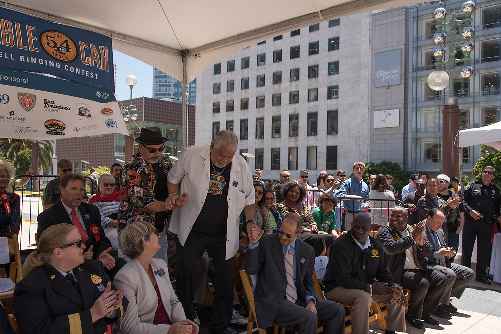 Former Bell Ringing Champions Performing at 54th Annual Cable Car Bell Ringing Contest   July 13, 2017