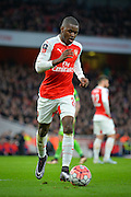 Arsenal Forward Joel Campbell during the The FA Cup match between Arsenal and Sunderland at the Emirates Stadium, London, England on 9 January 2016. Photo by Adam Rivers.