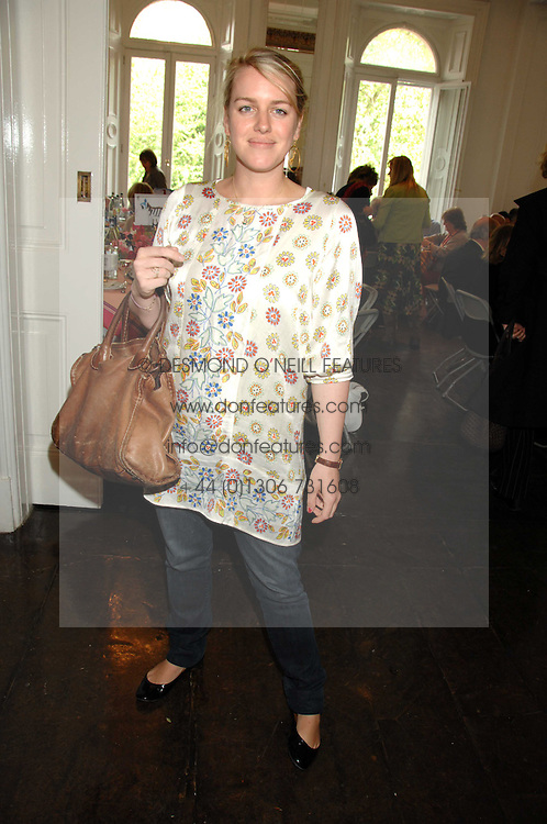 LAURA LOPES at a lunch in aid of African Solutions To African Problems held at Il Bottaccio, 9 Grosvenor Place, London on 20th May 2008.<br />