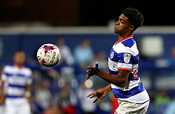 Darnell Furlong of Queens Park Rangers chests the ball - Mandatory by-line: Robbie Stephenson/JMP - 10/08/2016 - FOOTBALL - Loftus Road - London, England - Queens Park Rangers v Swindon Town - EFL League Cup