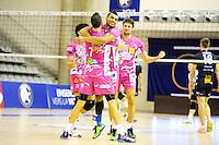 Joie Sete / Toafa Takaniko - 20.12.2014 - Paris Volley / Sete - 12eme journee de Ligue A<br /> Photo : Andre Ferreira / Icon Sport