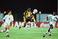 Fotball<br /> Afrikamesterskapet/African Nations Cup 2002<br /> Zambia v Tunisia<br /> Foto: Digitalsport<br /> NORWAY ONLY<br /> GIFT KAMPAMBA (ZAM)