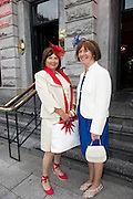 31/07/2014 There was an excellent turnout of fashionable ladies at Hotel Meyrick for their Most Stylish Lady Competition, judged by two of Ireland&rsquo;s leading fashion commentators Sonya Lennon  and Brendan Courtney .  At the event was Fiona Bohan Tralee and  Marian campbell Tralee<br /> <br /> Picture:Andrew Downes