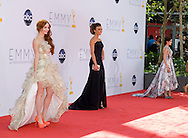 "PHOEBE PRICE; GIULIANA RANCIC AND ARIEL WINTER - 64TH PRIME TIME EMMY AWARDS.Nokia Theatre Live, Los Angelees_23/09/2012.Mandatory Credit Photo: ©Dias/NEWSPIX INTERNATIONAL..**ALL FEES PAYABLE TO: ""NEWSPIX INTERNATIONAL""**..IMMEDIATE CONFIRMATION OF USAGE REQUIRED:.Newspix International, 31 Chinnery Hill, Bishop's Stortford, ENGLAND CM23 3PS.Tel:+441279 324672  ; Fax: +441279656877.Mobile:  07775681153.e-mail: info@newspixinternational.co.uk"
