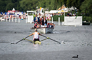 Henley Royal Regatta, Henley on Thames, Oxfordshire, 28 June - 2 July 2017.  Saturday  15:49:12   01/07/2017  [Mandatory Credit/Intersport Images]<br /> <br /> Rowing, Henley Reach, Henley Royal Regatta.<br /> <br /> The Princess Royal Challenge Cup<br />  V.L. Thornley (Leander Club)
