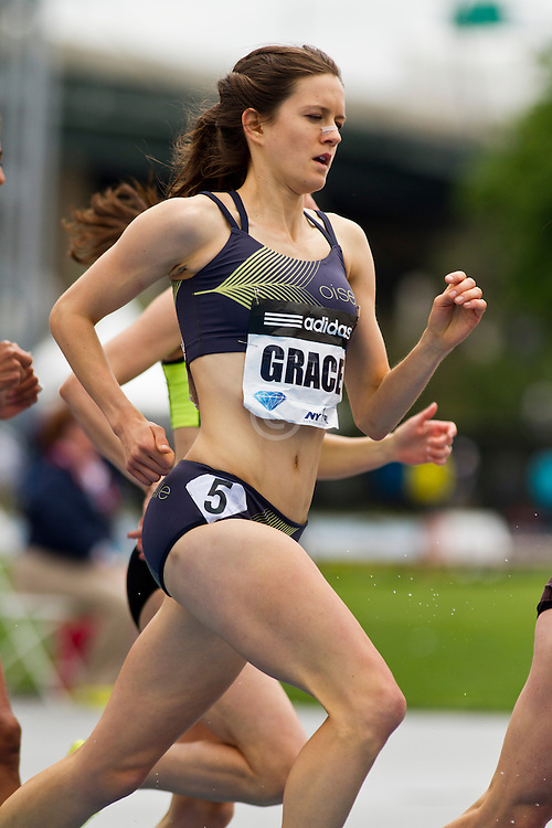 adidas Grand Prix track & field: Diamond League professional meet, womens 1500 meters, Kate Grace, USA