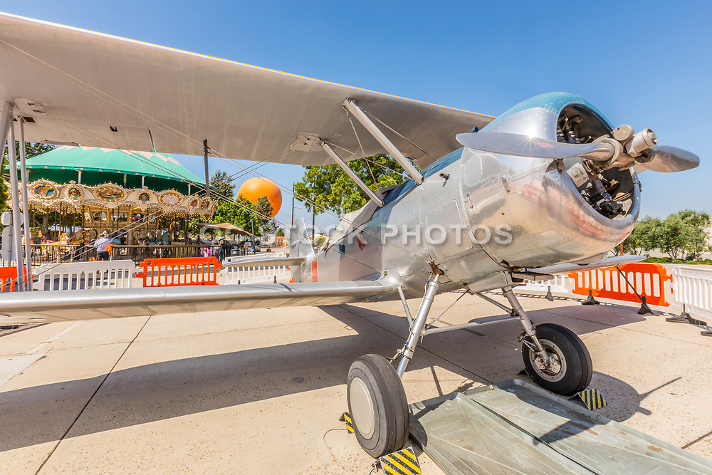 US Marines World War II Airplane N3N-3 Canary at Irvine Great Park