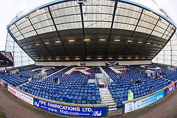 The North Stand at Stark's Park, the home ground of Scottish football team, Raith Rovers F.C.