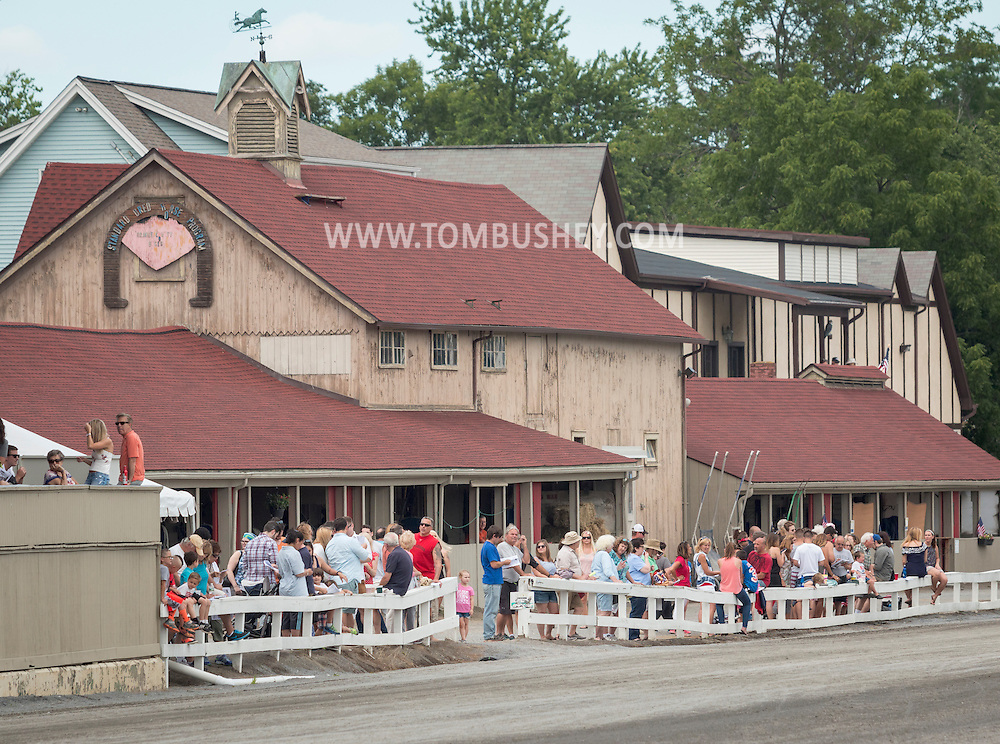 Goshenl, New York - Scenes from the Great American Weekend on July 2, 2016.