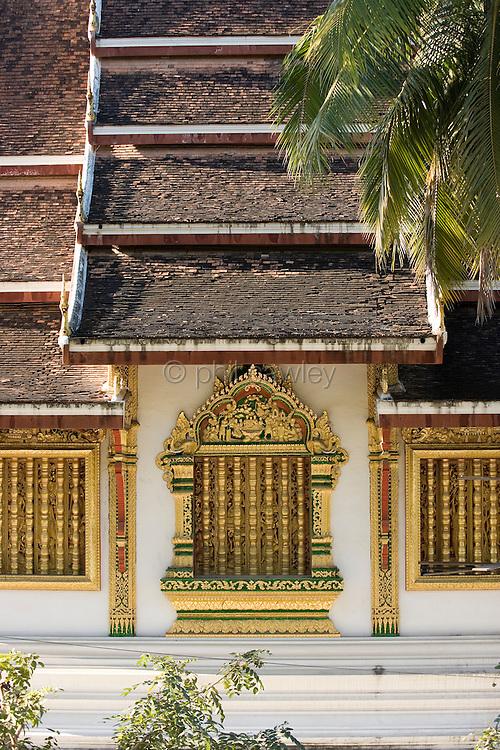 Luang Prabang, Laos - Wat Mai Suwannaphumaham.
