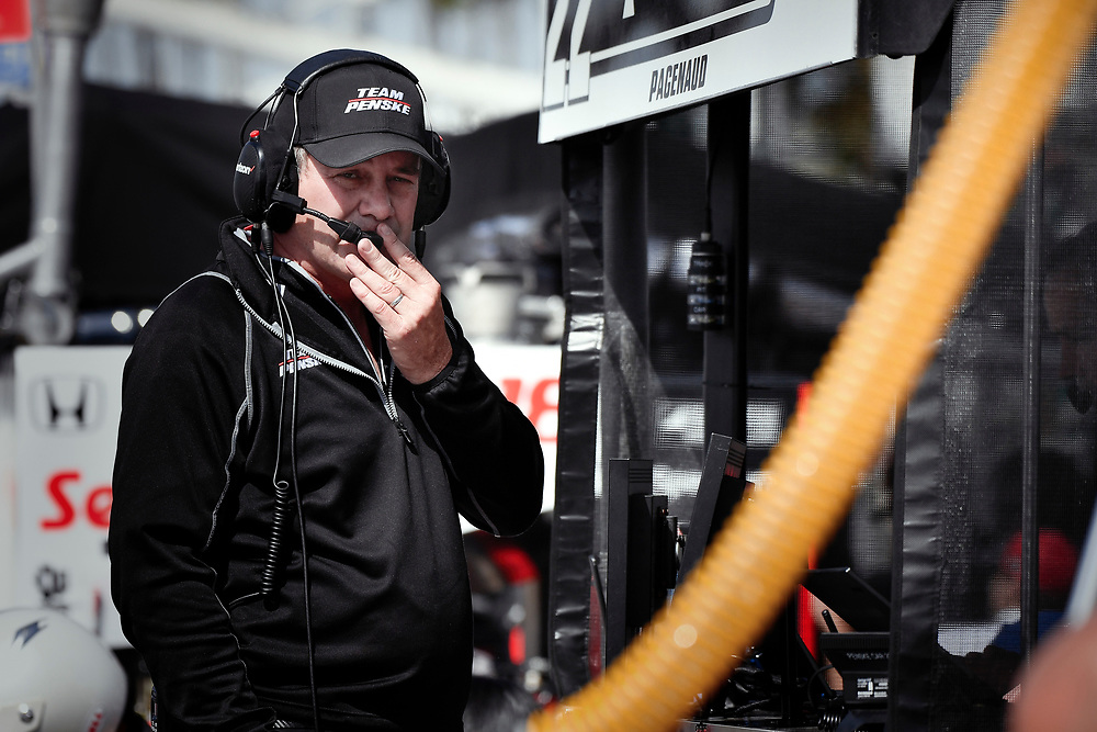 Kyle Moyer, Team Penske Chevrolet<br /> Friday 13 April 2018<br /> Toyota Grand Prix of Long Beach<br /> Verizon IndyCar Series<br /> Streets of Long Beach, California USA<br /> World Copyright: Scott R LePage<br /> LAT Images