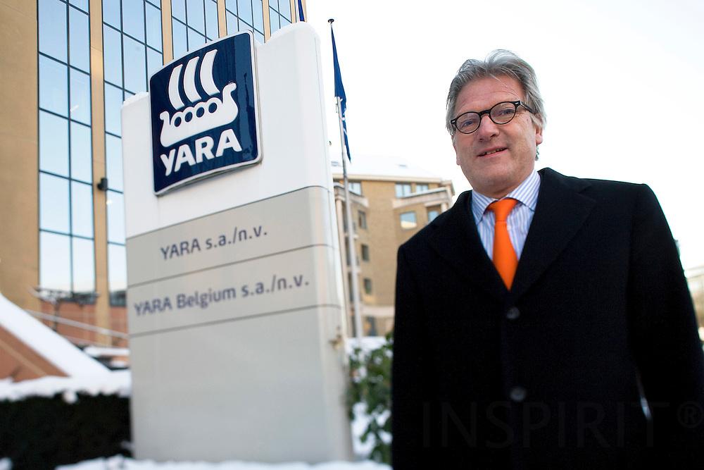 BRUSSELS - BELGIUM - 06 JANUARY 2009 -- Director Steinar SOLHEIM, both YARA S.A in Belgium. Photo: Erik Luntang