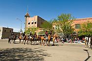 Little Bighorn Days parade, Hardin, Montana