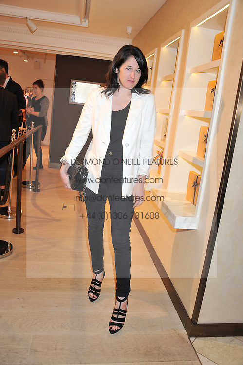 AMY MOLYNEAUX at a party to launch the Godiva Chocolate Cafe at Harrods, London held on 24th May 2012.