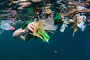 Marine Plastic Pollution collecting<br /> Lesser Sunda Islands<br /> Indonesia<br /> Collecting